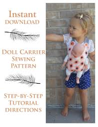 Baby Doll Carrier Pattern Magnificent Decorating