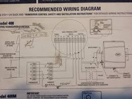 aprilaire 60 controller not activating blower doityourself com Aprilaire 400 Wiring Diagram Aprilaire 400 Wiring Diagram #21 aprilaire 400 wiring diagram