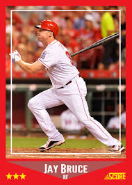 custom baseball cards jay bruce custom cards more custom baseball cards personal