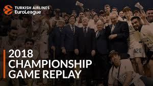 Final Four Classic, <b>2018</b>: <b>Real Madrid</b>-Fenerbahce Dogus Istanbul ...