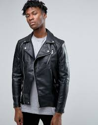 pull bear faux leather biker jacket in black men jackets pull bear jeans in slim fit pull bear jacket with borg collar best ers
