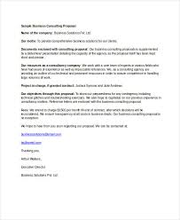 Sample Proposal Letter For Consultancy Services 15 Consulting Proposal Examples Pdf Doc Ai Psd Examples
