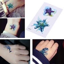 водонепроницаемый для женщин поддельные тело книги по искусству рука татуировки