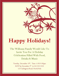 Christmas Invitation Wording 650 839 Holiday Party Invite