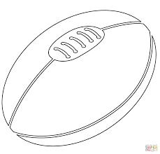 Ballon De Rugby Dessin Imprimer Download