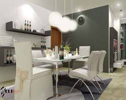 Dining Room Unique Dining Room Ideas With Mirrored Furniture And - Unique dining room lighting