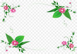 border design flower clipart sahara