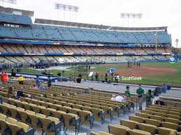 Dodger Stadium Seating Chart 2019 Dodger Stadium Seating Chart Map Seatgeek