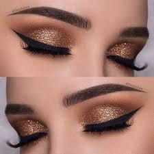 25 glamorous makeup ideas for new year s eve gold eye makeup gold eyeakeup