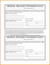 Sample Medical Release Form Sample Medical Release Form For 18