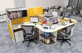 office desk photo. Curve Shaped Desk Office Photo