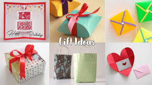 birthday gift ideas easy and diy birthday presents