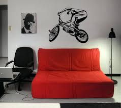 extreme sports wall decals bike sport race motor speed extreme mural ...