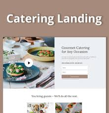 Recipe Page Layout Catering Landing Page Layout Divi Life