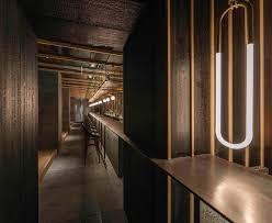 bar interiors design 2. Neri\u0026Hu Designs Dramatic Light-filled Atrium For Shanghai Restaurant Bar Interiors Design 2