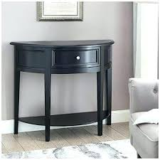 half circle bedside table black semi circle accent table at big lots side tables bedside small half circle bedside table