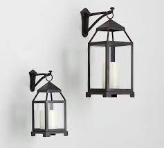 wall mounted lantern hook candle
