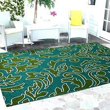 s blue and green outdoor rug kailani indoor area