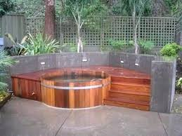 in ground jacuzzi. Above Ground Jacuzzi Ideas If You Want An In Hot Tub Then Awesome Garden U