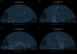 Star Charts For Southern Hemisphere Sample Ai Star Chart Vector Adobe Illustrator Resources
