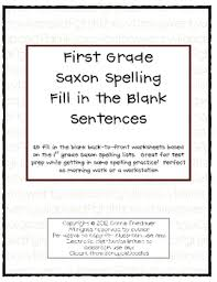 First grade phonics worksheets give early learners great spelling practice! Saxon Phonics Worksheets Teaching Resources Teachers Pay Teachers