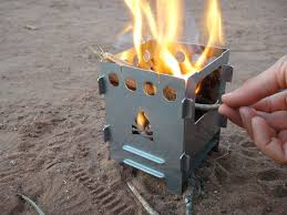 homemade wood stove style