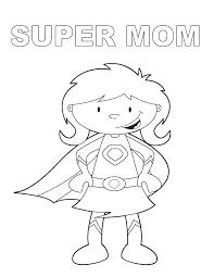 Mother Coloring Pages Mother Coloring Pages Printable I Love Mom