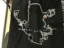 marc jacobs bird enamel medley necklace