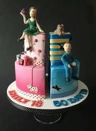 Husband Wife Cake Wedding Cakes In 2019 Cake Birthday Cake