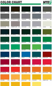 Tractor Paint Color Chart 0637 Parts Are The Most Commonly