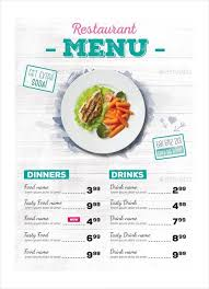 free food menu templates 33 restaurant menu templates free 333932585808 food menu