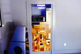 Media Closet Design Meridian Room Media Closet Door Audioart