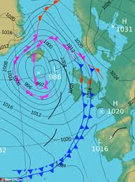 surface pressure charts uk weather to see torrential rain and tornadoes sweep in this