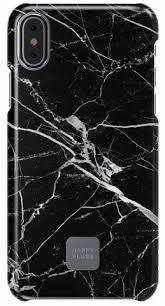Купить <b>чехол</b> iphone x <b>happy plugs</b>, slim case black marble в ...