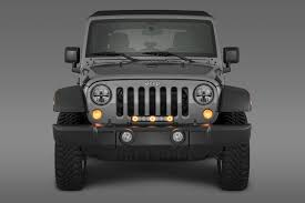 Jeep Grill With Light Bar