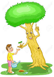 the boy help the tree save the world stock photo picture and the boy help the tree save the world stock photo 10261876