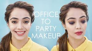 5 easy office to party makeup tips and tricks bebeautiful