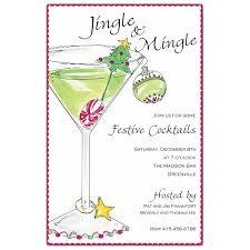 Images Of Christmas Invitations Christmas Martini Holiday Invitations