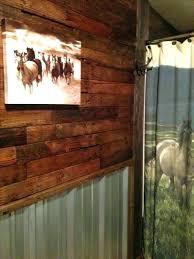 s cow corrugated metal wall decor tin walls