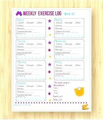 Blank Workout Logs Printable Blank Logs Woodnartstudio Co