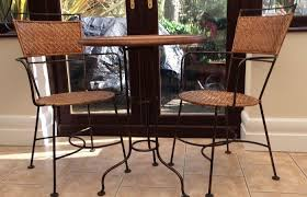 wood and wrought iron furniture. Wrought Modern Outdoor Ideas Medium Size Iron Furniture Indoor  Bistro Table And Two Chairs Mexican Style Wood And Wrought Iron Furniture