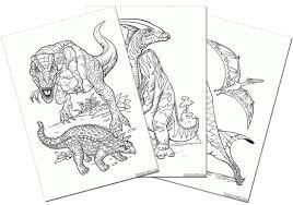 画像 47 恐竜の塗り絵無料ダウンロード印刷からオンラインぬりえ