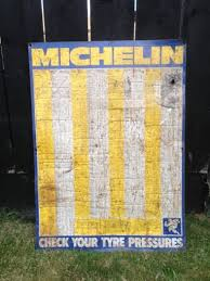 Michelin Tire Pressure Chart For Cars Vintage Michelin Tire Pressure Chart For Sale In Drogheda