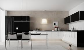 small modern kitchen design to show up the charming style fabulous black and white modern black white modern kitchen tables