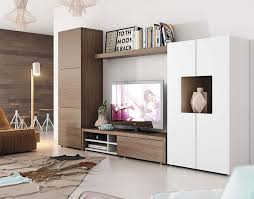 ... Living Room, Contemporary Wall Storage System With Cabinet Tv Unit And  Tall Cabine Living Room ...