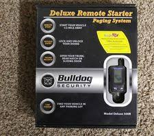 bulldog security car remote start and entry systems bulldog security deluxe 500 2 way remote vehicle starter new factory sealed