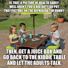 Image result for kiddie table