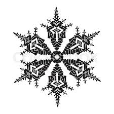 black and white snowflake background. Contemporary Snowflake Stock Vector Of U0027Handdrawn Realistic Silhouette Snowflake Black On White  Background Inside And White Snowflake Background S
