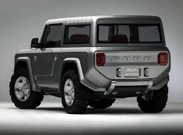 2019-2020 Ford Bronco Rear View Concept  D