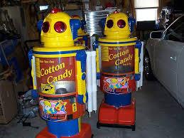 Robot Cotton Candy Vending Machine Unique Cotton Candy Robot
